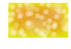 Bokeh gele en witte vector als achtergrond royalty-vrije illustratie