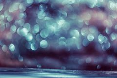 bokeh glitter Colorfull Blurred abstract background for birthday royalty free stock image