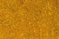 Bokeh-Goldfarbzusammenfassung Stockbild