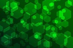 Bokeh-Grün-Konzepthintergrund Stockfoto
