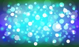 Bokeh gra główna rolę round, plamę jako i Kolorowy trend i abstrakt Obrazy Stock