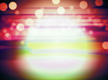 Bokeh graphic background Royalty Free Stock Image