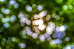 Bokeh. Green bokeh abstract light background Stock Photos