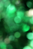Bokeh Green Background Royalty Free Stock Photos