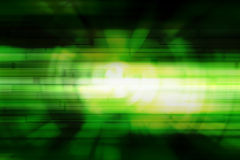 Bokeh on green background. Stock Photo