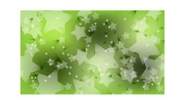 Bokeh green and white stars background vector. royalty free illustration