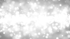 Bokeh grigio e bianco Rappresentazione di Digital 3d Fotografie Stock Libere da Diritti