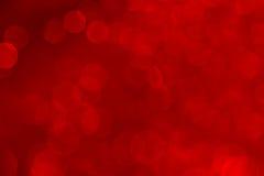 Bokeh ha saturato il fondo rosso fotografia stock libera da diritti