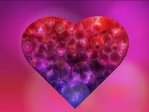 Bokeh heart Royalty Free Stock Photography