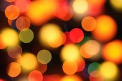 Bokeh-Hintergründe für Design Farb- und Unschärfeeffekte Stockfoto