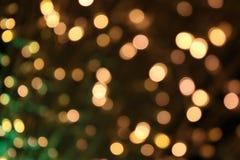 Bokeh-Hintergrund bunt von den frohen Weihnachten, guten Rutsch ins Neue Jahr bokeh Beleuchtungsglanz auf Nachthintergrund, Bokeh Stockfotos