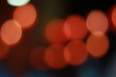 Bokeh Hintergrund des roten Lichtes Lizenzfreie Stockbilder