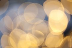 Bokeh holiday background. Golden bokeh holiday background Stock Photo