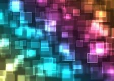 Bokeh ilumina o teste padrão Imagens de Stock Royalty Free