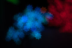 Bokeh image of light shape Royalty Free Stock Photography