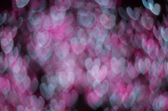 Bokeh image of light shape. Bokeh has been defined as the way the lens renders out-of-focus points of light.Differences in lens aberrations and aperture shape Stock Photos