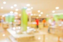 Bokeh of Interior of modern restaurant Stock Photo