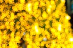 Bokeh julgran Fotografering för Bildbyråer