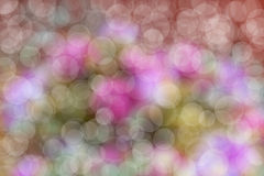 Bokeh kleurrijke achtergrond Stock Foto's