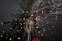 Bokeh Kleurrijke Punten van Licht stock afbeelding
