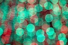 Bokeh kolorowi zamazani światła obrazy stock
