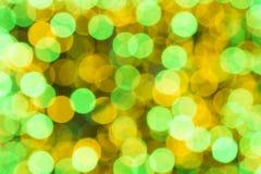 Bokeh kolorowy tło Fotografia Royalty Free