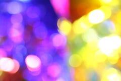 bokeh koloru tło Obraz Royalty Free