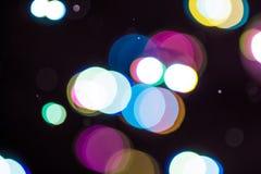 Bokeh léger abstrait Image libre de droits