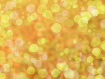 bokeh léger de vert de citron Photographie stock libre de droits