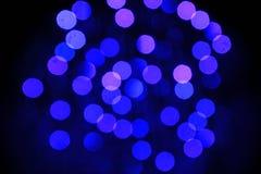 Bokeh lampor Royaltyfria Bilder