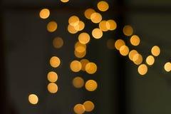 Bokeh lampor Fotografering för Bildbyråer