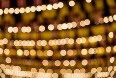 Bokeh lampor härlig jul royaltyfri illustrationer