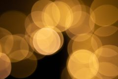 Bokeh from LED flashlights royalty free stock photos