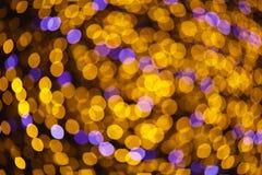Bokeh led lights defocused background Royalty Free Stock Photography