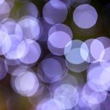 Bokeh Leuchte Stockfoto