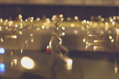 Bokeh Leuchte lizenzfreie stockfotos