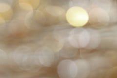 Bokeh Leuchten Stockfoto