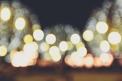 Bokeh Leuchten Stockfotografie