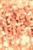 Bokeh Leuchten Lizenzfreies Stockbild