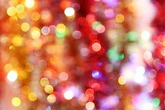 Bokeh leuchtet Hintergrund, Abschluss Lizenzfreie Stockbilder