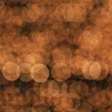 Bokeh-Licht als Hintergrund Stockbild