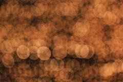 Bokeh-Licht als Hintergrund Stockfotografie