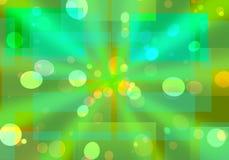 bokeh licht patroon Stock Afbeeldingen