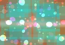 bokeh licht patroon Stock Afbeelding