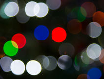 Bokeh ligero defocused de la falta de definición del Año Nuevo Foto de archivo libre de regalías