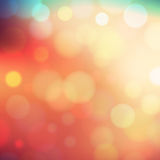 Bokeh light abstract background Stock Photography