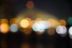 Bokeh. Light back background Stock Image