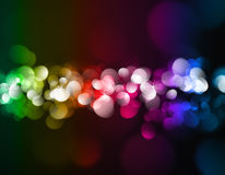 Bokeh light background Stock Image