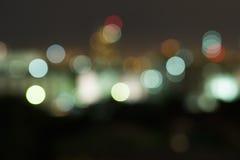 Bokeh. Light on background blur royalty free stock photos