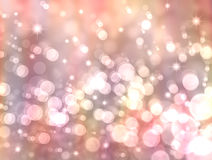 Bokeh light. Background of bokeh light,Christmas or new year Royalty Free Stock Photography